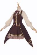 Cardcaptor Sakura Tomoyo Daidouji Cosplay Costume Steampunk Style Daily Dress