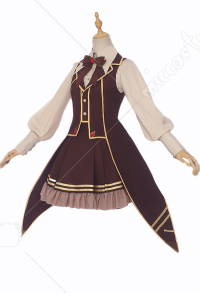 Cardcaptor Sakura Tomoyo Daidouji Cosplay Costume Steampunk Style Daily Dress