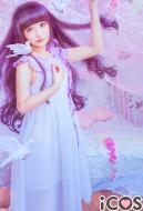 Clamp Card Captor Sakura Tomoyo Daidouji Daily Dress Cosplay Costume