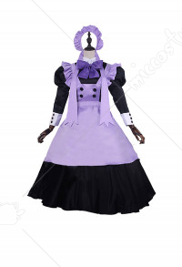 Cardcaptor Sakura Tomoyo Daidouji Cute Maid Dress Cosplay Costume