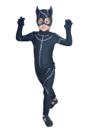 Super Hero Child Halloween Costume Inspired by Cat Woman Movie Make to Order