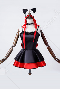 Date A Live Tokisaki Kurumi Cat Cosplay Garage Kits Edition Cosplay Costume