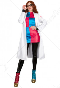 Dragon Ball Android 21 Cosplay Costume with Boot Covers and Earrings