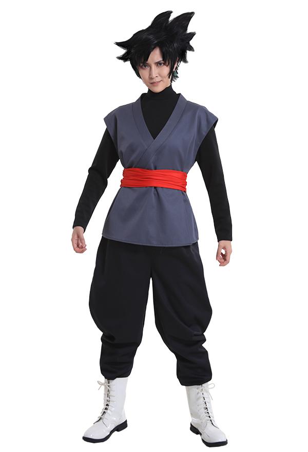 Dragon Ball Son Goku Schwarz Cosplay Kostüm