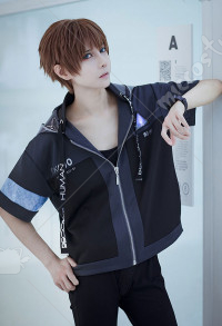 Detroit Become Human RK 900 RK 800 Connor Original Hoodie Outfit Cosplay Costume