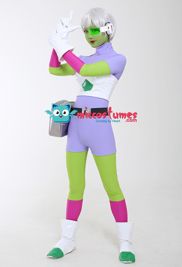 Dragon Ball Super Chirai Cheelai Cheelye Cosplay Kostüm Set