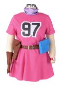 Plus Size Dragon Ball Bulma Cosplay Costume