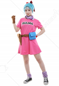 Dragon Ball Bulma Cosplay Kostüm
