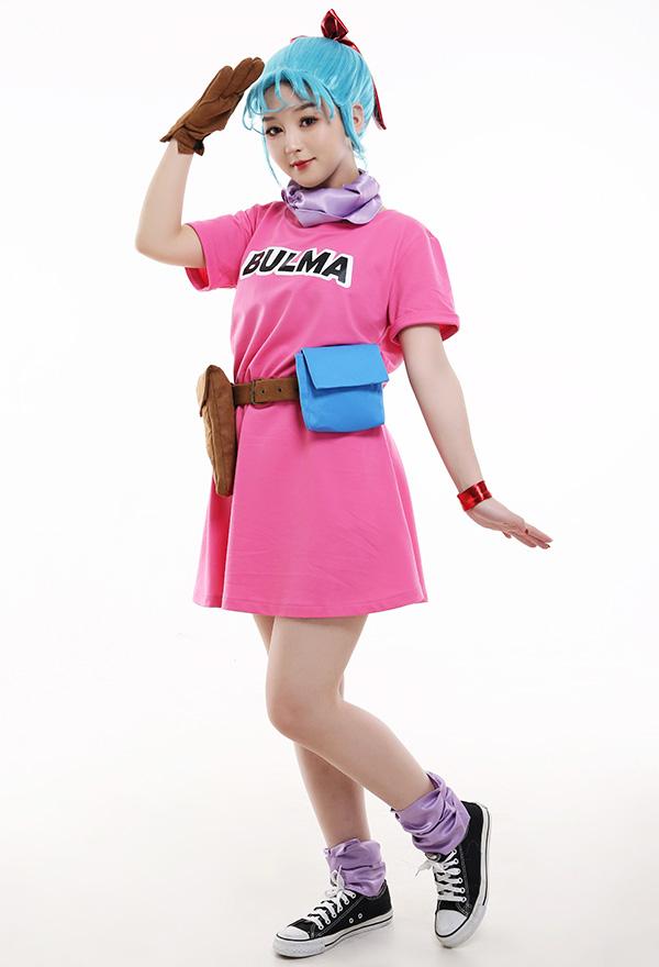 Dragon Ball Bulma Cosplay Kostüm