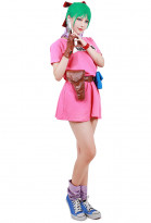 Dragon Ball Bulma Cosplay Costume Dress
