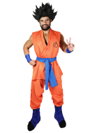 Alduts Dragon Ball Super Anime 2015 Goku Cosplay Costume including Boots Covers