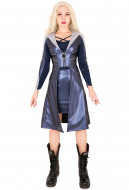 Exclusive Killer Frost Caitlin Snow Cosplay Costume Coat Inspired by The Flash TV Season 3