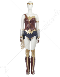Super Heroine Upgraded Fullset Cosplay Costume Inspired by Wonder Woman (Including the Shoes) Make to Order