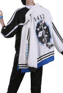 Detective Conan Kaitou Kiddo Daily Tide Suit Cosplay Costume