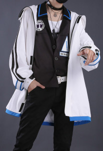 Detective Conan Fashion Kudou Shinichi Cosplay Costume