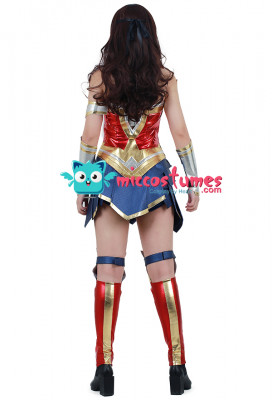 Super Heroine Cosplay Costume Inspired by Wonder Woman Movie