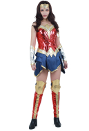 Super Heroine Cosplay Costume Inspired by Wonder Woman Movie