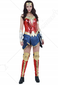 Super Heroine Warrior Princess Diana Cosplay Costume