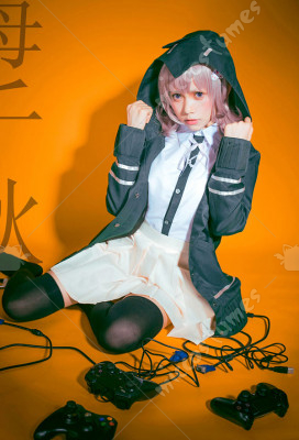 Danganronpa Dangan-Ronpa 2 Chiaki Nanami Dress Costume Cosplay Outfit Halloween
