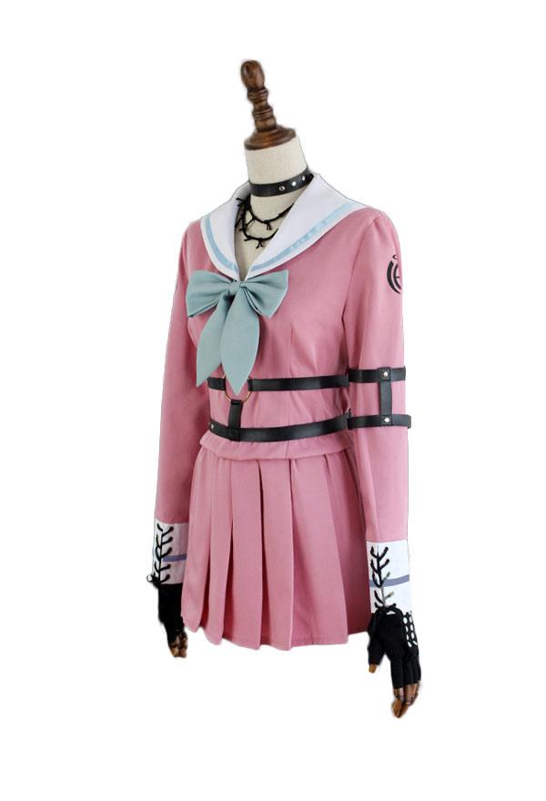 Danganronpa V3: Killing Harmony Iruma Miu Schuluniform Komplett Gruppe Cosplay Kostüm