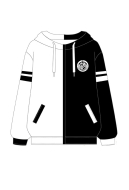 Manchy Danganronpa Monokuma Cosplay Costume Hoodie with Bear Ears