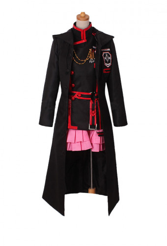D.Gray-man HALLOW Lenalee Lee Three Generations of Group Second Season Coat Cosplay Costume