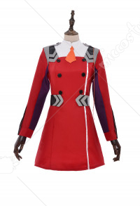 DARLING in the FRANXX Zero Two Code 002 Outfit Including Gloves and Hair Accessory