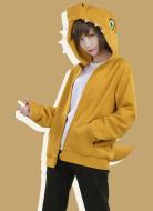 Digital Monster Digimon Agumon Cute Coat Outfit Cosplay Costume