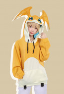 Digital Monster Digimon Patamon Cute Coat Outfit Cosplay Costume