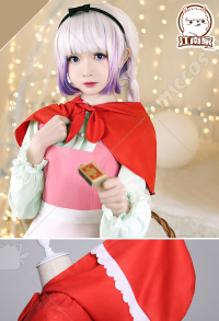 Miss Kobayashi's Dragon Maid Kanna Cosplay Costume