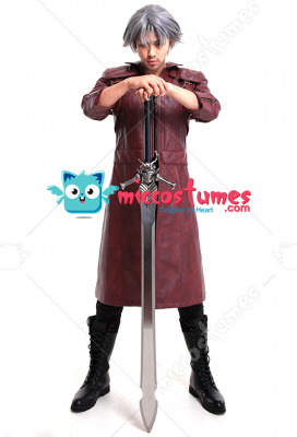 Devil May Cry 5 Dante Cosplay Coat Jacket Costume