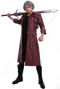 Devil May Cry 5 DMC 5 Dante Cosplay Jacke Mantel Kostüm