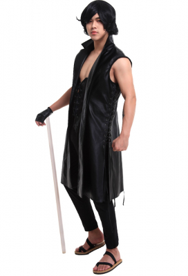 Devil May Cry 5 V Cosplay Vest Costume with Gloves