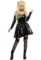 Death Note Cahier de la Mort Costume de Cosplay Misa Robe Gothique