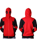 Superhero Hoodie Costume Inspired by Deadpool Wade Wilson Make to Order