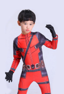 Deadpool Cosplay Male Costume Adults and Kids Jumpsuit Inspired by Deadpool Make to Order