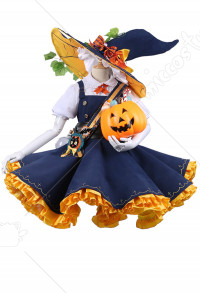 Halloween Costume Touhou Project Kirisame Marisa Cosplay Lolita Jumper Skirt