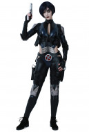 Superhero Cosplay Suit Costume with Belts Set Inspired by Deadpool Domino Make to Order