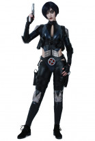 Superhero Cosplay Suit Jumpsuit Costume with Belts Set Inspired by Deadpool Domino Make to Order