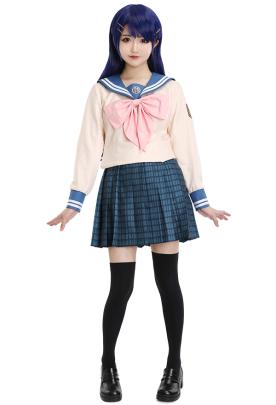 Danganronpa Maizono Sayaka Cosplay Costume School Uniform