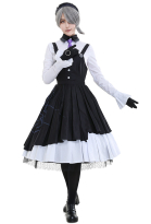 Dangan Ronpa Tojo Kirumi Ultimate Maid Cosplay Costume Dress