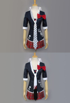 Danganronpa Junko Enoshima Cosplay Costume Jacket Coat Uniform Set
