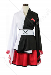 Danganronpa Monokuma Kimono Cosplay Costume Dress