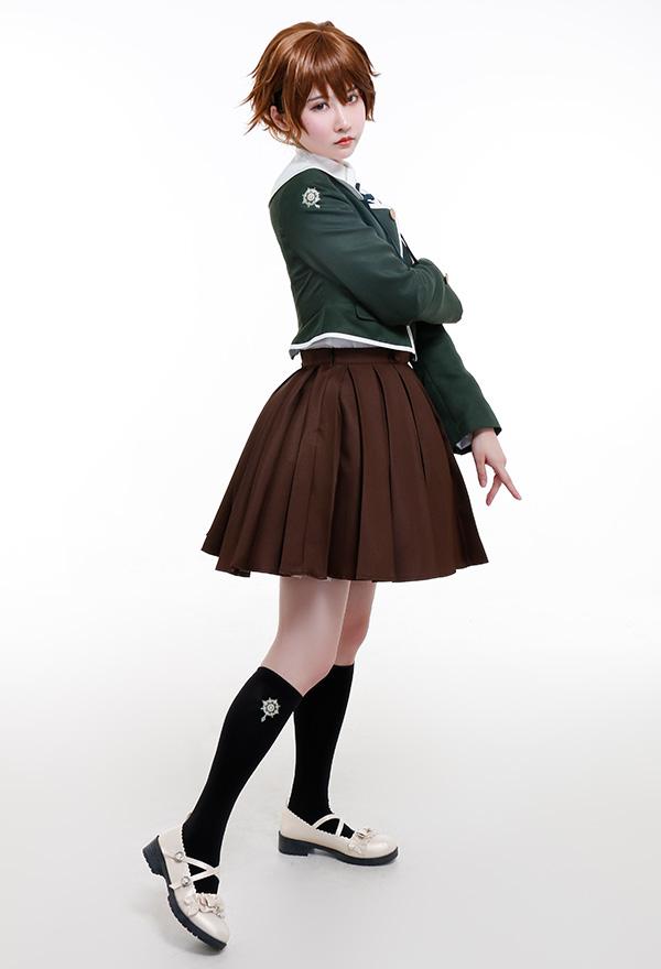 Danganronpa Chihiro Fujisaki Japanische Uniform Cosplay Kostüm