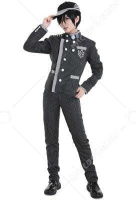 Danganronpa V3 Saihara Shuichi Detective School Uniform Cosplay Costume Custom