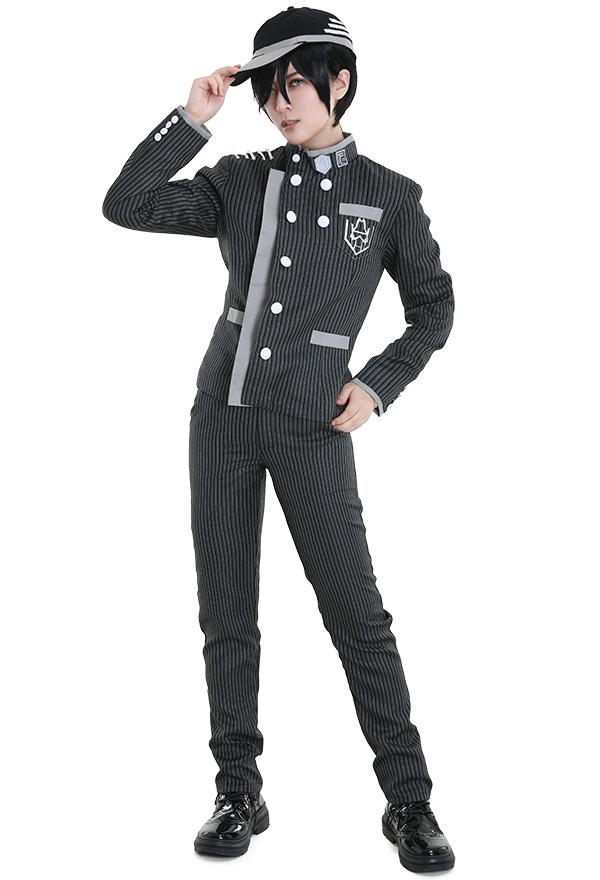 New Danganronpa V3 Shuichi Saihara Schuluniform Cosplay Kostüm