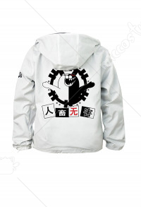 Danganronpa Monokuma Daily Hoodie Coat Casual Jacket Cosplay Costume