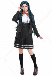 Danganronpa V3 Killing Harmony Tsumugi Shirogane Cosplay Costume School Uniform Outfit