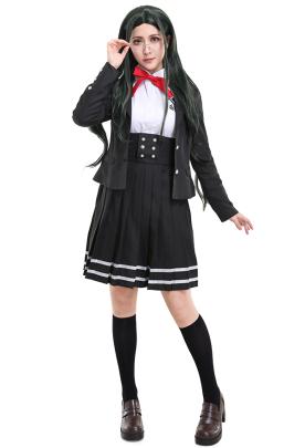 Danganronpa V3 Killing Harmony Tsumugi Shirogane Cosplay Costume School Uniform Outfit