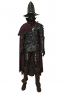Dark Souls 3 Farron Cosplay Costume Including Gloves and Shoes